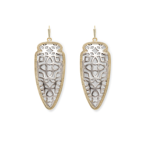 Kendra Scott Sadie Spear Earrings in Gold and Silver