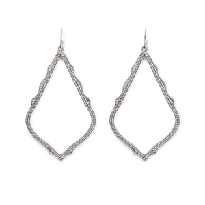 Kendra Scott Sophee Drop Earrings in Silver