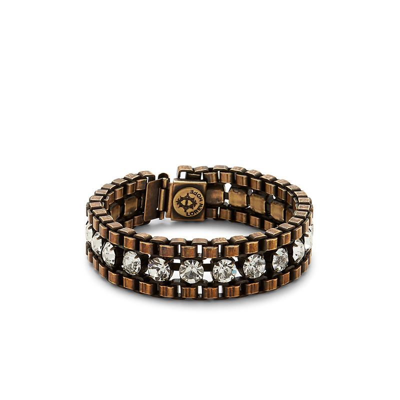 Loren Hope Carly Bracelet in Brass