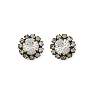 Loren Hope Chloe Studs in Crystal