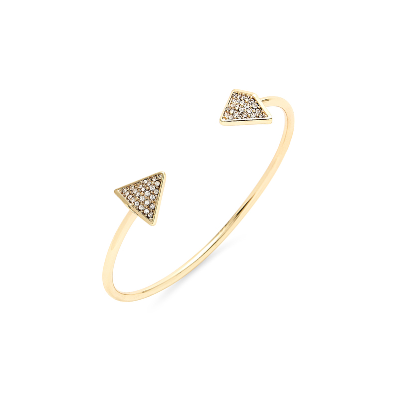 SLATE Follow Your Arrow Cuff in Gold