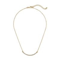 Sophie Harper Pavé Curve Bar Necklace
