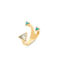 Wanderlust + Co Dusk To Dawn XL Ring in Gold