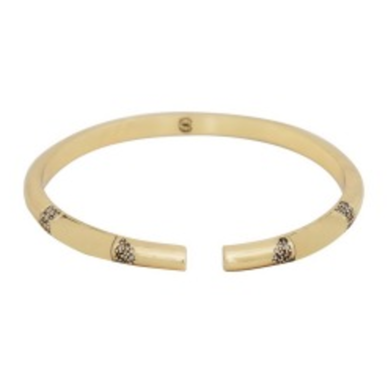 House of Harlow 1960 Age of Antiquity Bracelet in Gold