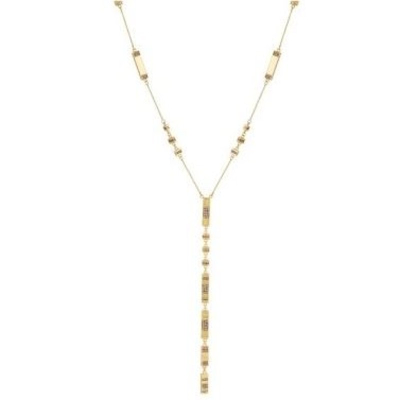 House of Harlow 1960 Atum Pave Station Necklace