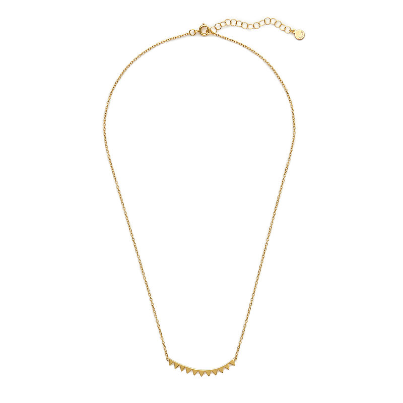 Gorjana Mika Mini Plate Necklace