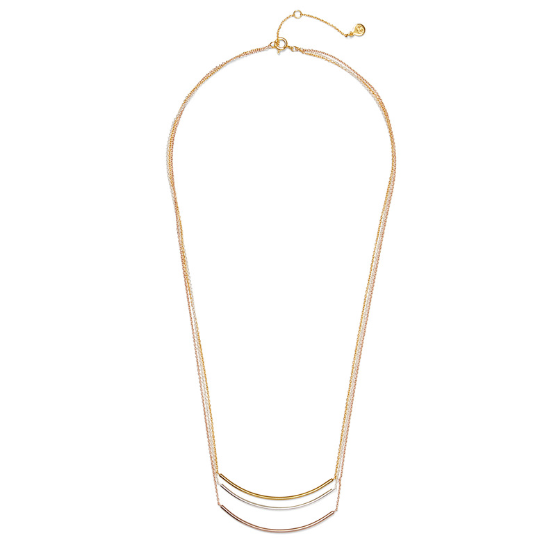 Gorjana Carine Mixed Layer Necklace