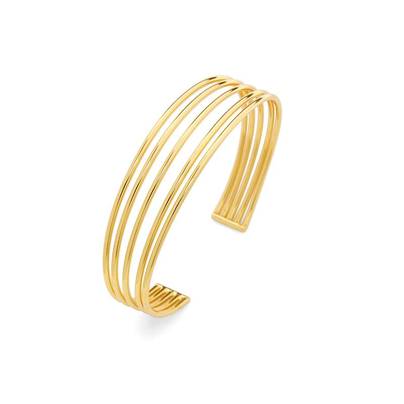 Gorjana Carine Cuff in Gold