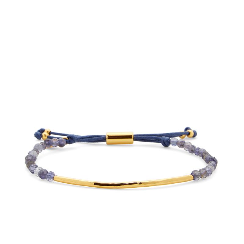 Gorjana Power Gemstone Bracelet in Iolite