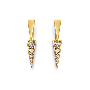 Gorjana Cresta Shimmer Reversible Ear Jacket Stud Set