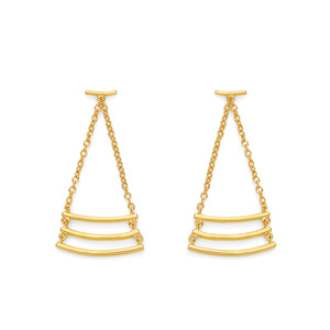 Gorjana Carine Earrings in Gold