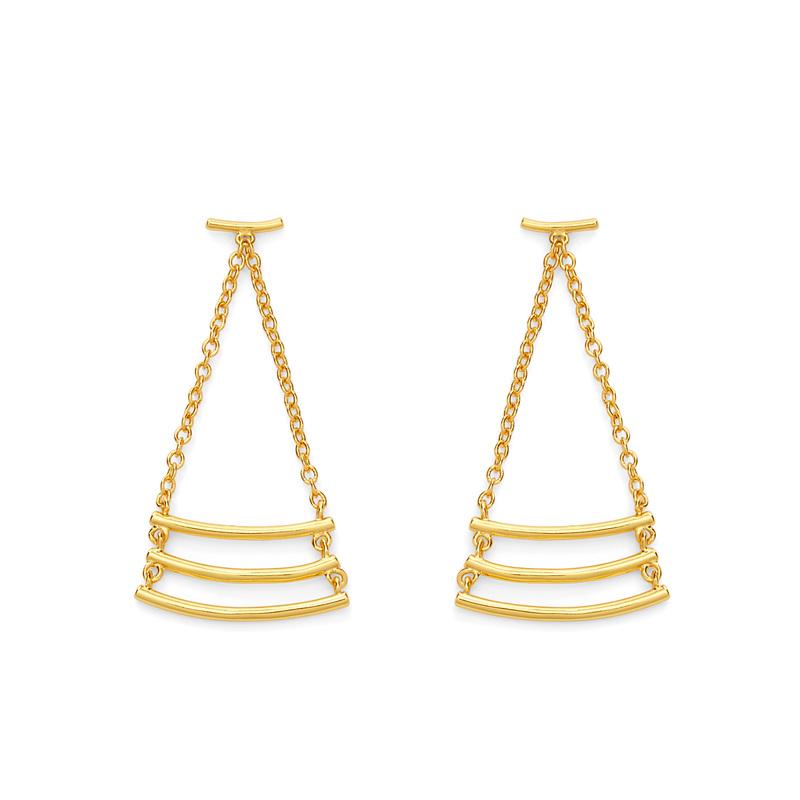 Gorjana Carine Earrings in Gold