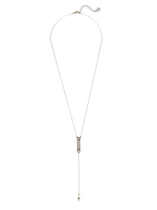 House of Harlow 1960 Dakota Drop Y Necklace in Silver