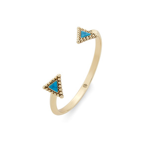 House of Harlow 1960 Native Legend Cuff in Turquoise