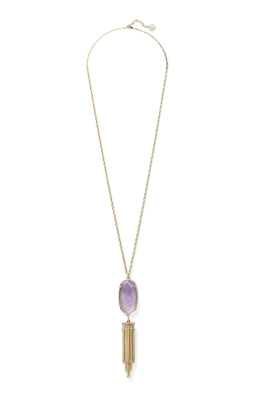 Kendra Scott Rayne Necklace in Amethyst