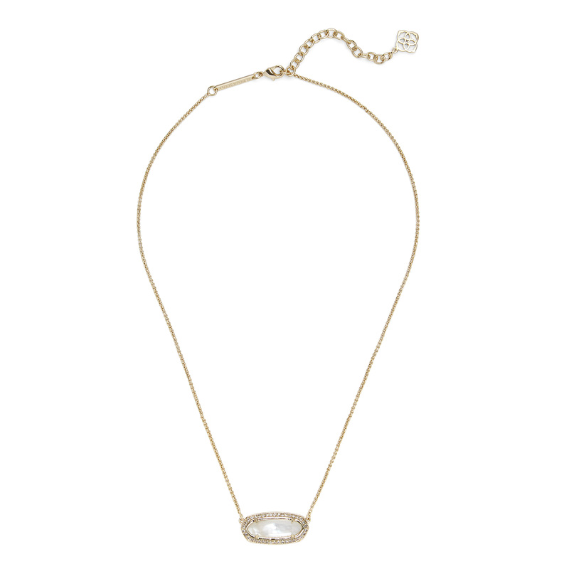 Kendra Scott Annika Necklace in Ivory Pearl