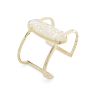 Kendra Scott Lawson Cuff in Crushed Ivory Pearl
