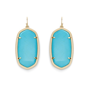 Kendra Scott Danielle Earrings in Turquoise