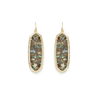 Kendra Scott Lauren Earrings in Crushed Abalone