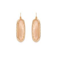 Kendra Scott Lauren Earrings in Peach Illusion