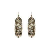 Kendra Scott Lauren Earrings in Crushed Black Pearl