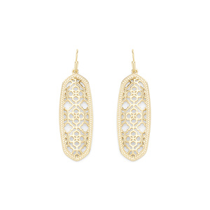 Kendra Scott Brenden Earrings in Gold