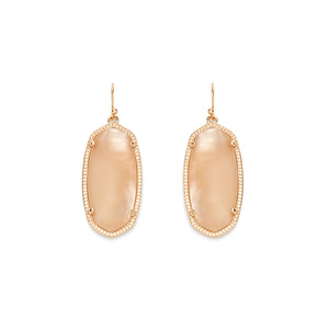 Kendra Scott Elle Earrings in Peach Illusion
