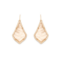 Kendra Scott Alex Earrings in Peach Illusion