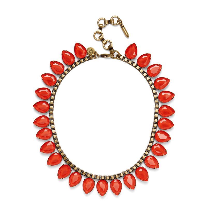 Loren Hope Sylvia Necklace in Paradise Red
