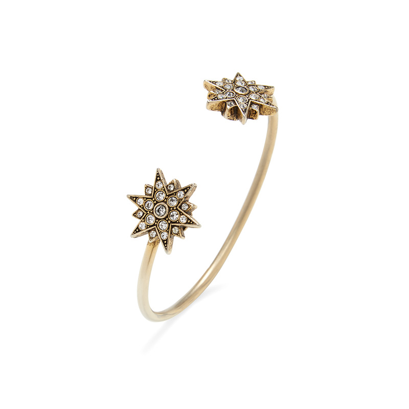 Loren Hope Starburst Reverse Cuff in Gold