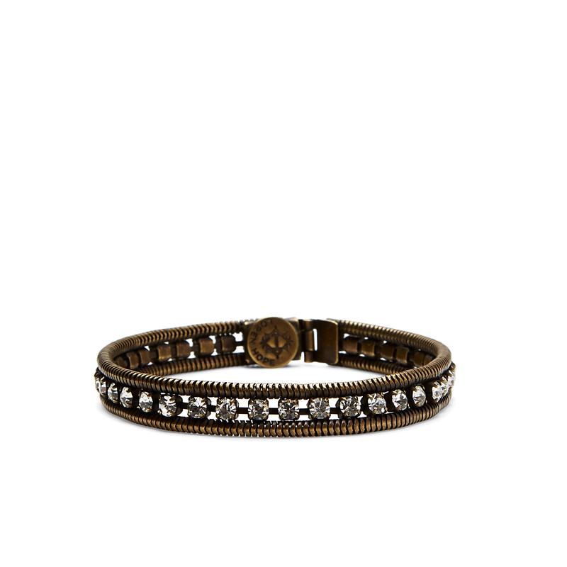 Loren Hope Clara Mini Bracelet in Crystal