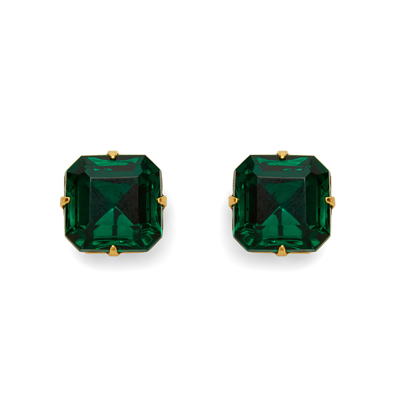 Loren Hope Sophia Studs in Emerald