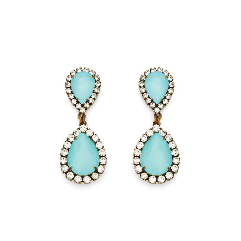 Loren Hope Abba Earrings in Bay Blue