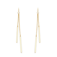 Sophie Harper Double Bar Drop Earrings