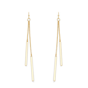 Sophie Harper Double Bar Drop Earrings