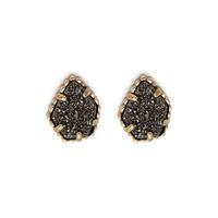 Kendra Scott Tessa Stud Earrings in Platinum Drusy