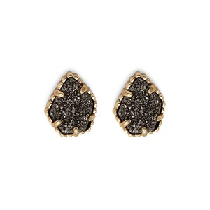 Kendra Scott Tessa Stud Earrings in Platinum Drusy
