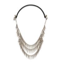 Jenny Bird Palm Cili Collar in Silver