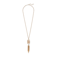 Kendra Scott Rayne Necklace in Peach Illusion