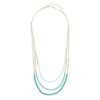 Moon & Lola Stella Maris Necklace in Green