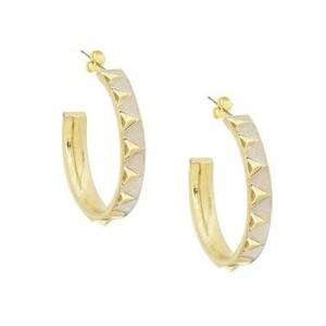 House of Harlow 1960 Nile Delta Hoop Earrings