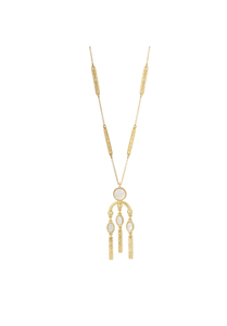 House of Harlow 1960 Desert Oasis Drop Pendant Necklace
