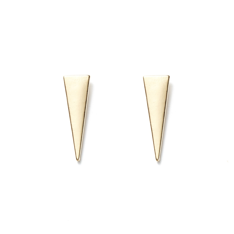 a.v. max Geometric Triangle Ear Climbers