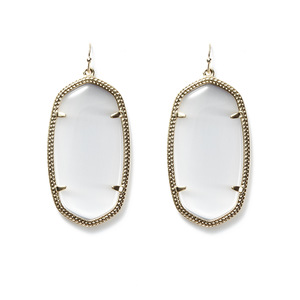 Kendra Scott Danielle Earrings in Slate