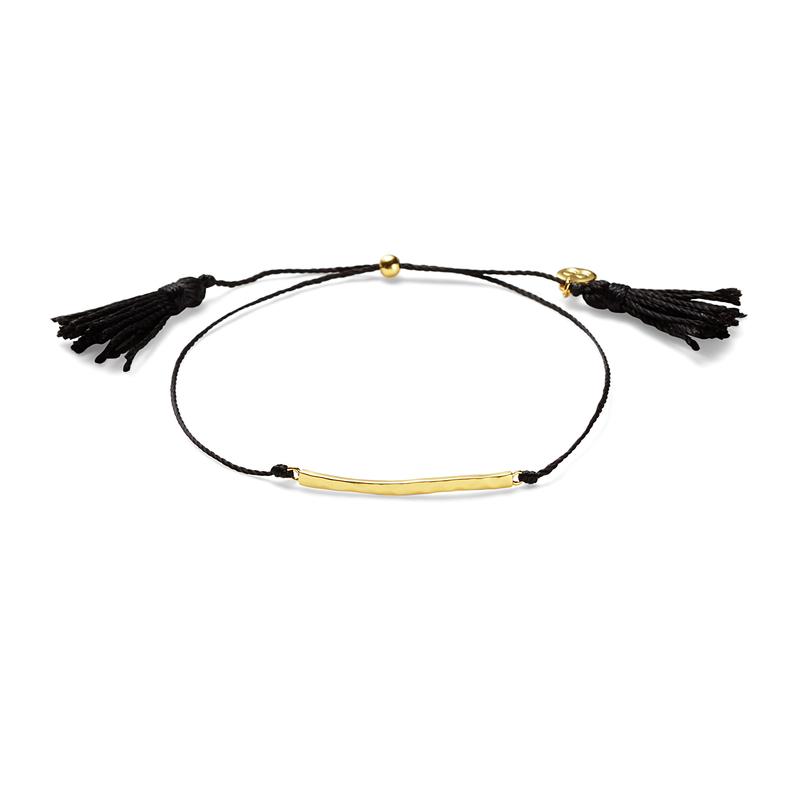 Gorjana Laguna Bar Bracelet in Black