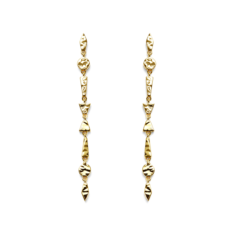 Gorjana Tavia Earrings in Gold