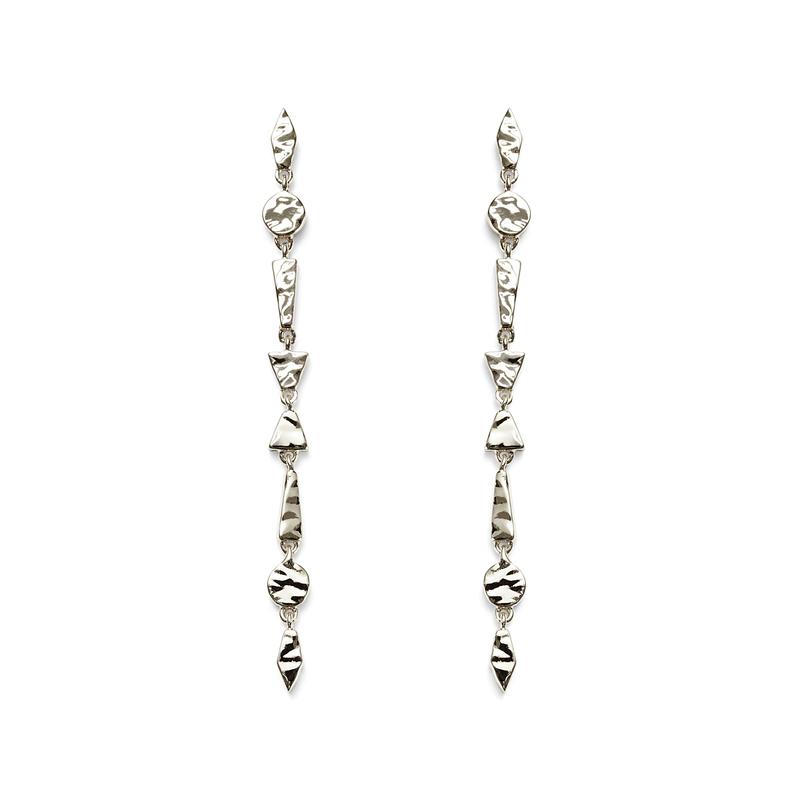 Gorjana Tavia Earrings in Silver