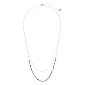 Gorjana Tavia Layered Necklace in Silver