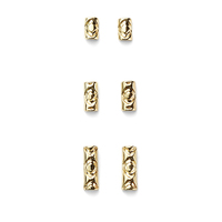 House of Harlow 1960 Iconic Etch Stud Set in Gold