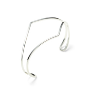 Nashelle Indra Cuff in Silver
